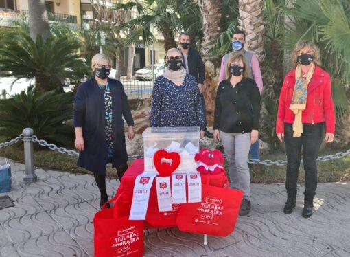 AECO Teulada Moraira reparte amor a 14 personas en su campaña de San Valentín