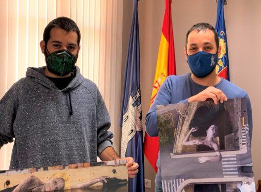 El artista Tardor dona al Ayuntamiento de Ondara dos láminas de sus últimas obras