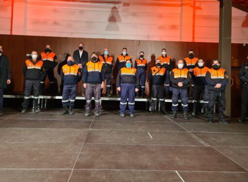 Merecido homenaje a Protección Civil de Benissa