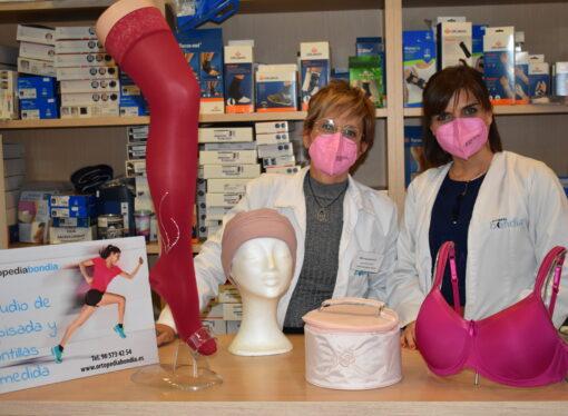 Ortopedia Bondia celebra el mes de la Mujer al lado de sus clientas