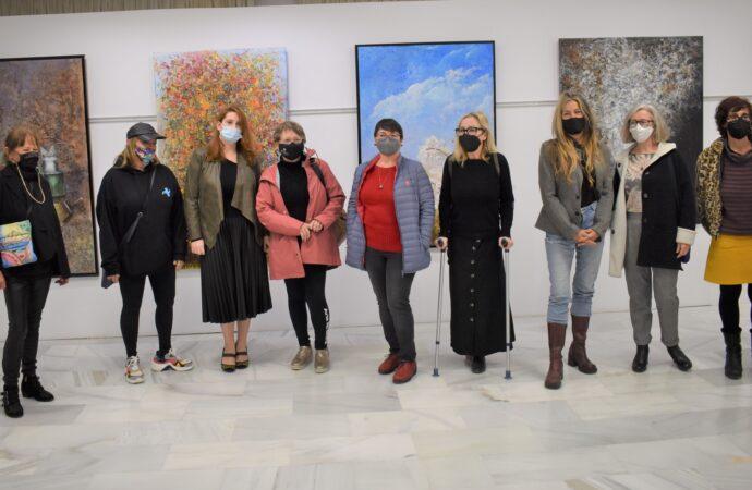Pinceladas de arte protagonizadas por mujeres calpinas