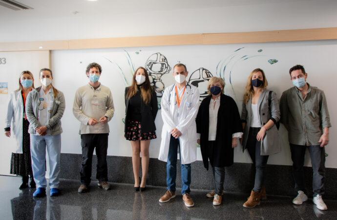 Arranca el trabajo del planetario en el área infantil del Hospital de Dénia