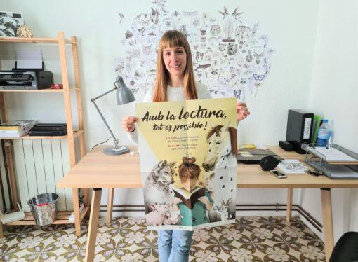 Alba López Soler ilustra la campaña del Día Internacional del Libro de la Fundació Bromera
