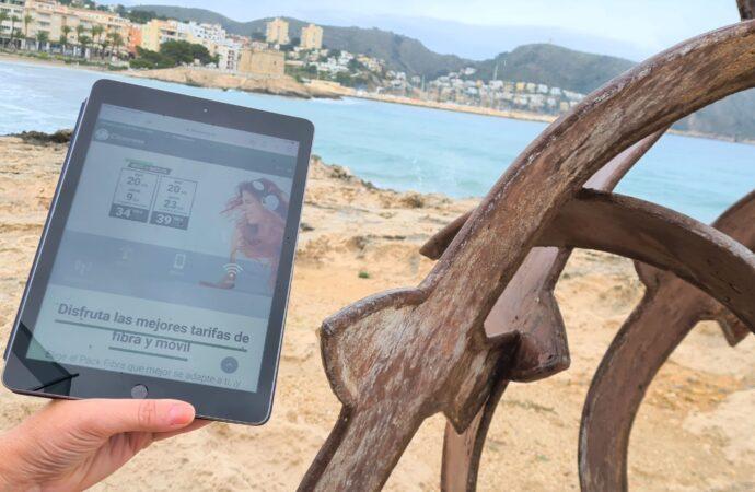 ¿Conoces los puntos de acceso WiFi gratuitos de Closeness en Teulada Moraira y Benissa?