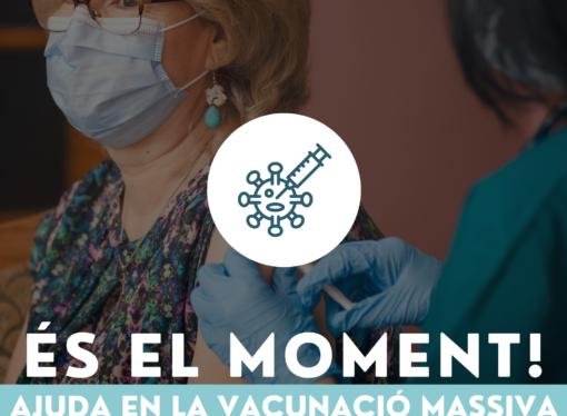 En Ondara se buscan voluntarios para colaborar en la vacunación masiva