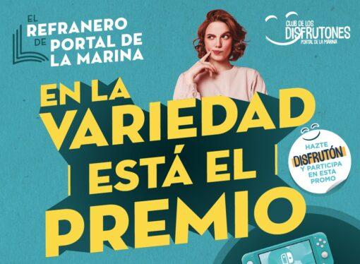Portal de la Marina homenajea el refranero español regalando premios