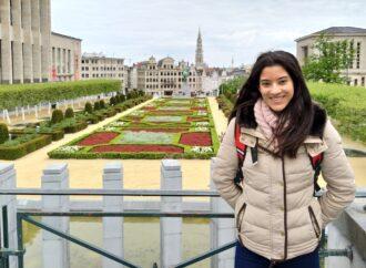 """Sofia Ferrer: """"Cada vegada que li dic a algú que sóc de Benissa es fica molt content perquè ha estat allí o a la comarca i em diuen que no saben que faig vivint actualment a Bèlgica"""""""