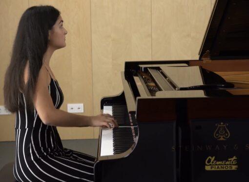 "La joven pianista Silke Ribes, Premio Profesional de Música del CPM ""Mestre Berenguer"" de Teulada"