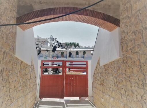 La plaza de Toros de Ondara se remodela para mejorar su accesibilidad