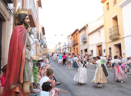"""Suspendidas las fiestas populares de """"Sants de la Pedra"""" de Teulada"""