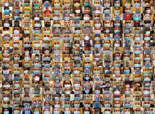 Ondara creará un collage de fotos con las persones que se han vacunado en el Prado