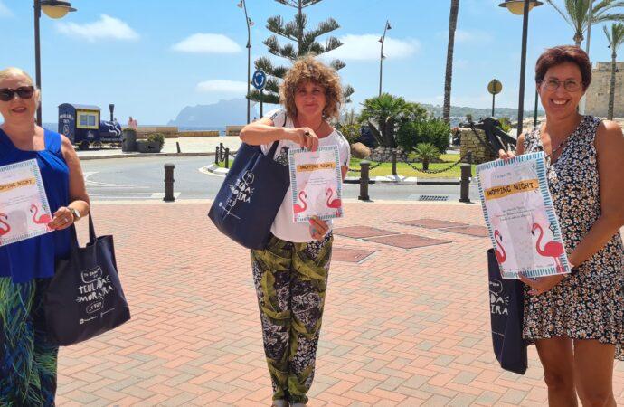 Este jueves, llega la X Shopping Night de la Asociación de Empresarios y Comerciantes de Teulada Moraira