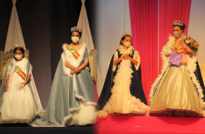 Calp ya tiene reinas: Celia Cano y Martina Arán las del 2020 y Andrea Ferrández y Ana Hidalgo las del 2021