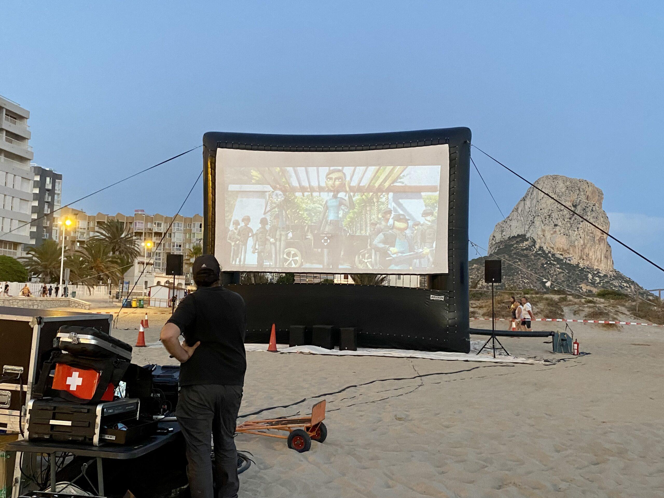 Cinema a la Mar