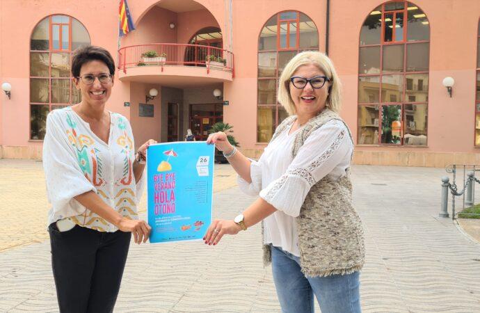 """""""Bye bye verano. Hola otoño"""", este domingo en la explanada del Castillo de Moraira"""