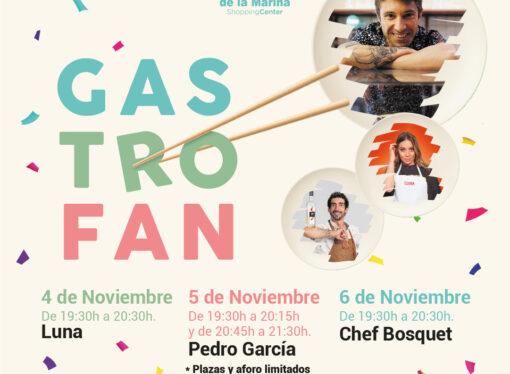 """Portal de la Marina lanza el evento gastronómico """"GastroFan"""""""