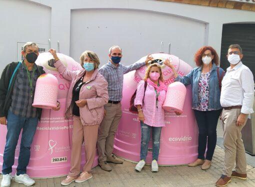 Instalan en Ondara los contendores rosas para reunir fondos para la lucha contra el cáncer de mama